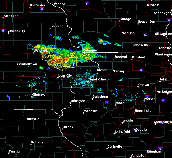 Radar Image for Severe Thunderstorms near Rowley, IA at 6/15/2017 8:36 PM CDT