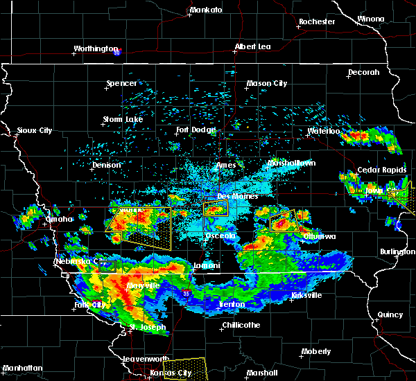 Radar Image for Severe Thunderstorms near Orient, IA at 6/15/2017 10:04 PM CDT