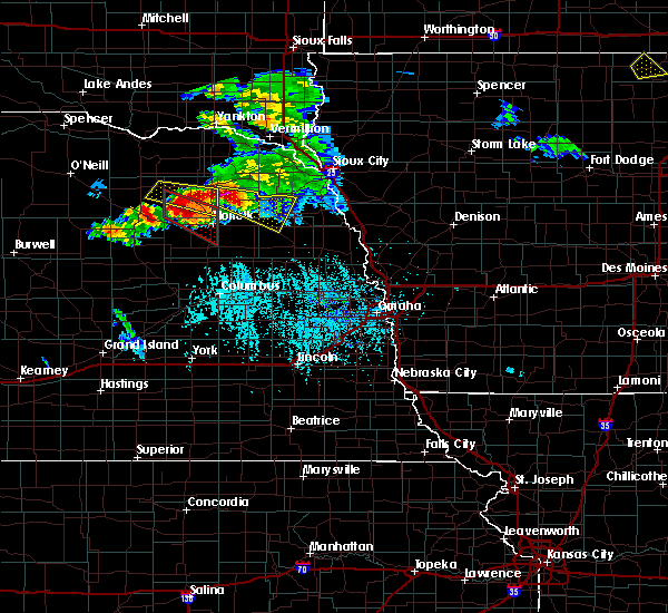 Radar Image for Severe Thunderstorms near Winside, NE at 6/16/2017 5:00 PM CDT