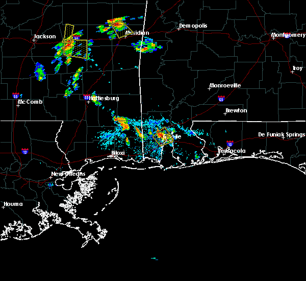 Radar Image for Severe Thunderstorms near Spanish Fort, AL at 6/16/2017 5:10 PM CDT