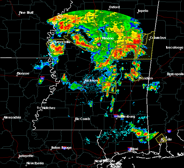 Radar Image for Severe Thunderstorms near Schlater, MS at 6/16/2017 5:25 PM CDT