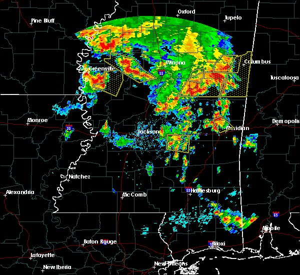 Radar Image for Severe Thunderstorms near Inverness, MS at 6/16/2017 5:31 PM CDT
