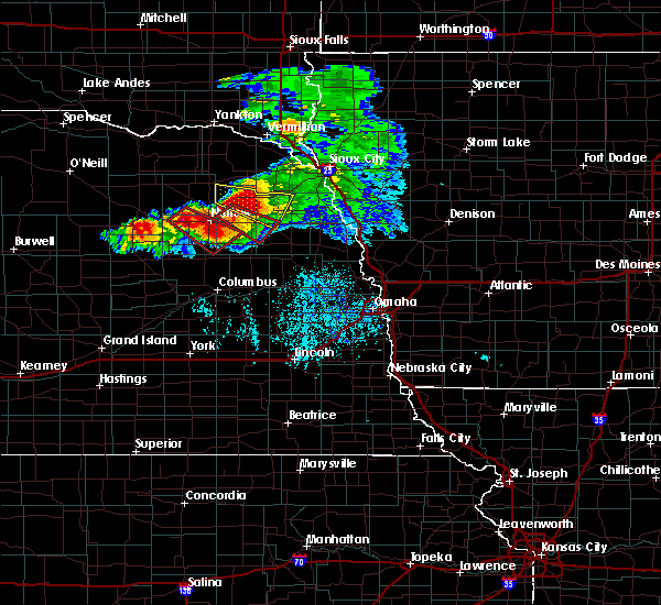 Radar Image for Severe Thunderstorms near Woodland Park, NE at 6/16/2017 5:32 PM CDT