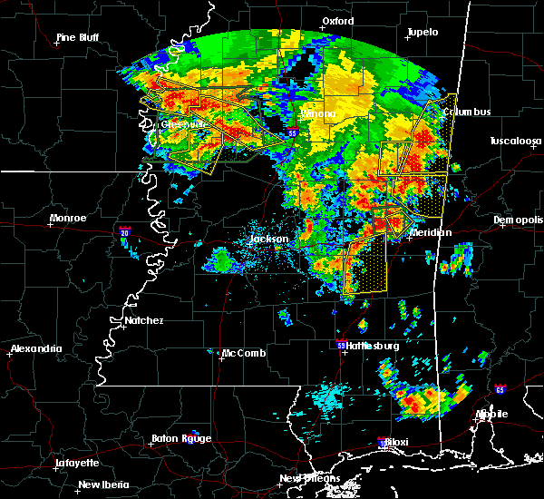 Radar Image for Severe Thunderstorms near Heidelberg, MS at 6/16/2017 5:57 PM CDT