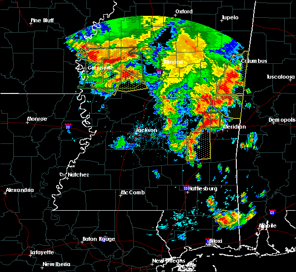 Radar Image for Severe Thunderstorms near Lexington, MS at 6/16/2017 6:04 PM CDT