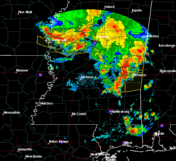 Radar Image for Severe Thunderstorms near Lauderdale, MS at 6/16/2017 6:27 PM CDT