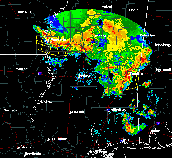 Radar Image for Severe Thunderstorms near Lauderdale, MS at 6/16/2017 6:53 PM CDT