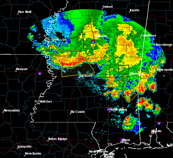 Radar Image for Severe Thunderstorms near Flora, MS at 6/16/2017 7:38 PM CDT