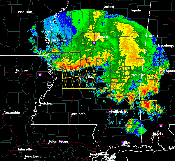 Radar Image for Severe Thunderstorms near Brandon, MS at 6/16/2017 7:51 PM CDT