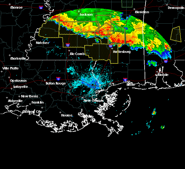 Radar Image for Severe Thunderstorms near Arnold Line, MS at 6/16/2017 9:16 PM CDT