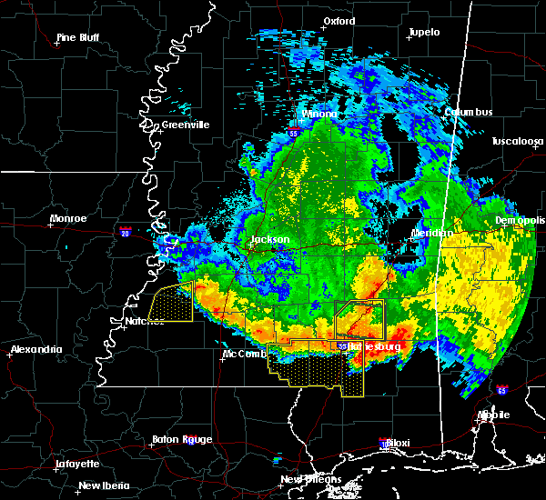 Radar Image for Severe Thunderstorms near Fayette, MS at 6/16/2017 9:48 PM CDT