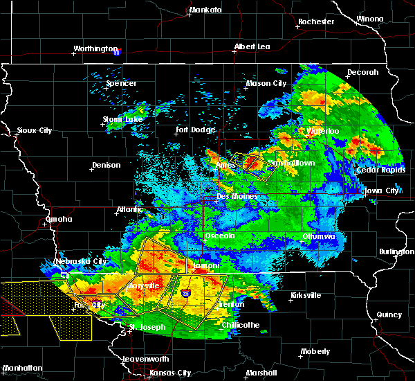Radar Image for Severe Thunderstorms near State Center, IA at 6/16/2017 10:09 PM CDT