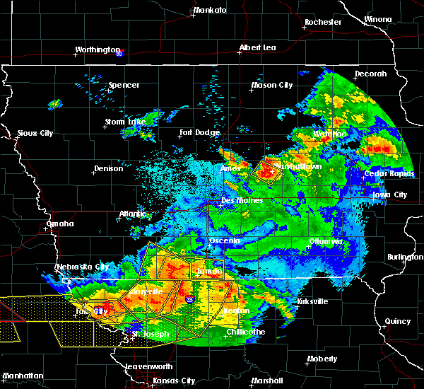 Radar Image for Severe Thunderstorms near Beaconsfield, IA at 6/16/2017 10:25 PM CDT