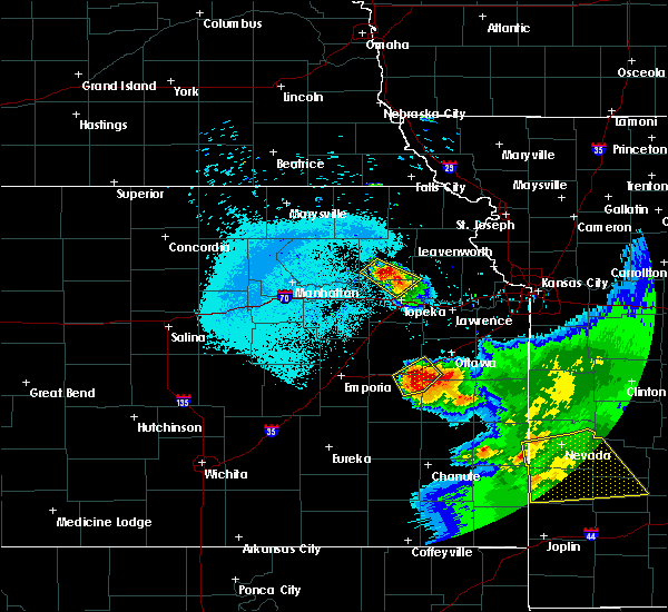 Radar Image for Severe Thunderstorms near Harris, KS at 6/17/2017 4:10 AM CDT