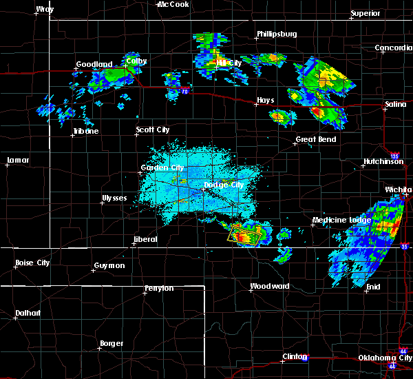 Radar Image for Severe Thunderstorms near Protection, KS at 6/17/2017 11:15 PM CDT