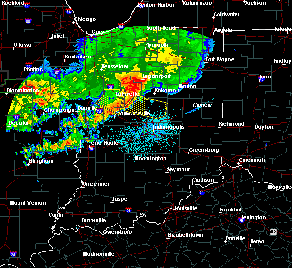 Radar Image for Severe Thunderstorms near Sheridan, IN at 6/18/2017 12:46 AM EDT