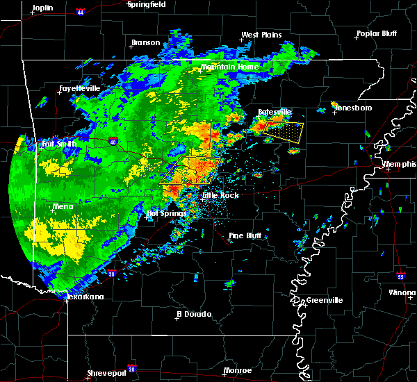 Radar Image for Severe Thunderstorms near Newark, AR at 6/18/2017 12:02 PM CDT