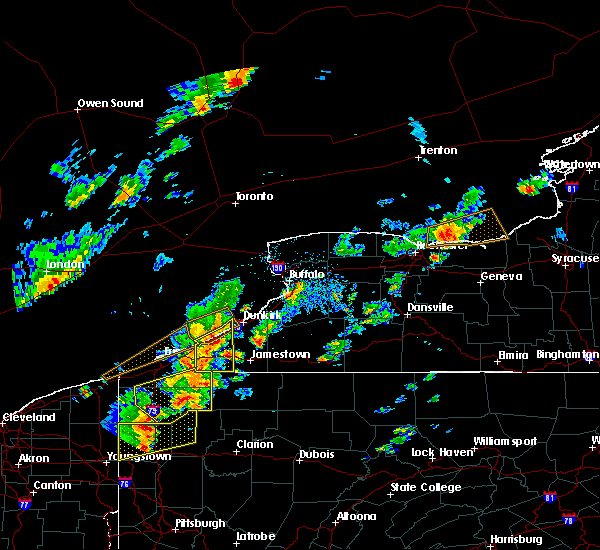 Radar Image for Severe Thunderstorms near Ripley, NY at 6/18/2017 3:06 PM EDT