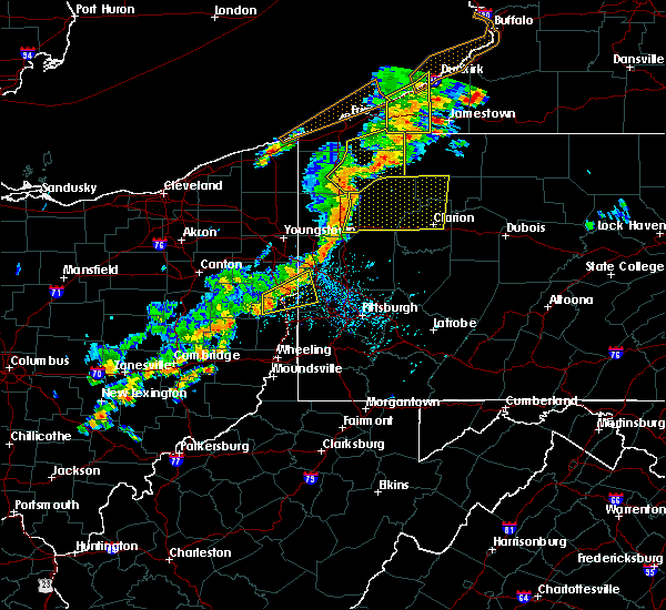 Radar Image for Severe Thunderstorms near Glenmoor, OH at 6/18/2017 3:21 PM EDT