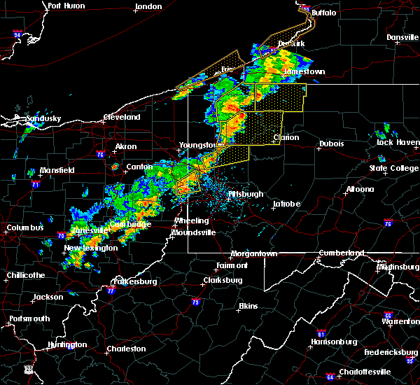 Radar Image for Severe Thunderstorms near Glenmoor, OH at 6/18/2017 3:33 PM EDT