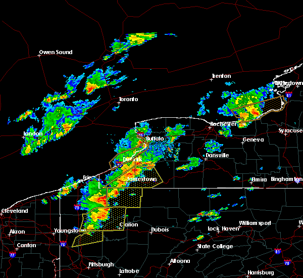 Radar Image for Severe Thunderstorms near Falconer, NY at 6/18/2017 3:49 PM EDT