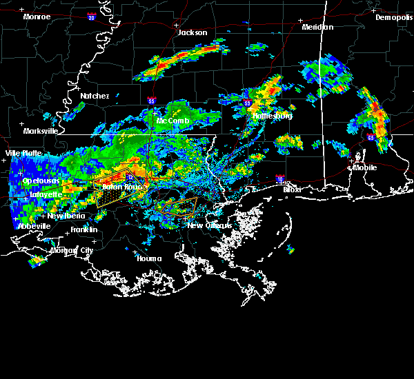 Radar Image for Severe Thunderstorms near Central, LA at 6/18/2017 3:25 PM CDT
