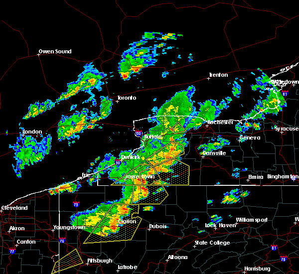 Radar Image for Severe Thunderstorms near Little Valley, NY at 6/18/2017 4:44 PM EDT