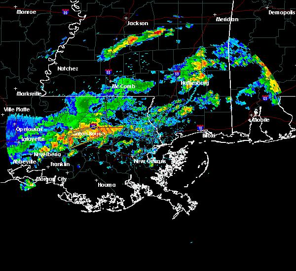 Radar Image for Severe Thunderstorms near Baton Rouge, LA at 6/18/2017 3:47 PM CDT