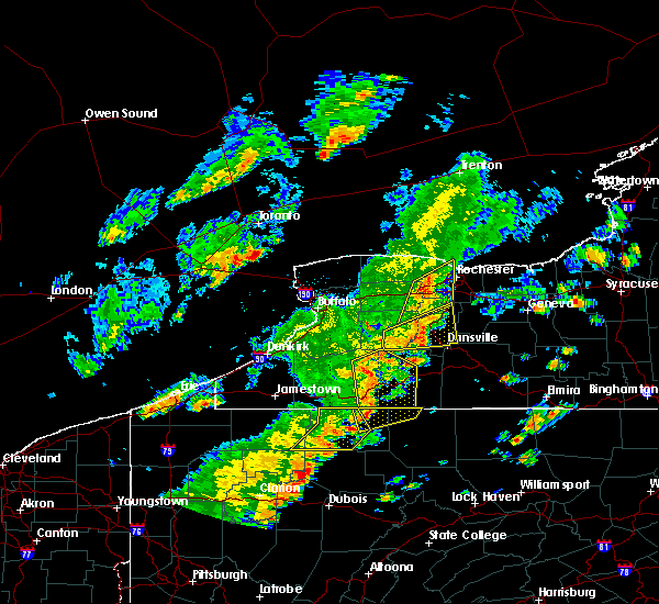 Radar Image for Severe Thunderstorms near Scio, NY at 6/18/2017 5:15 PM EDT