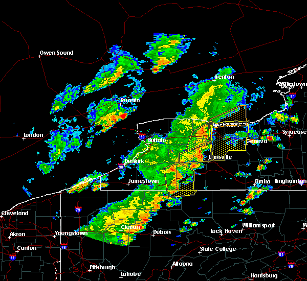 Radar Image for Severe Thunderstorms near Sodus, NY at 6/18/2017 5:24 PM EDT
