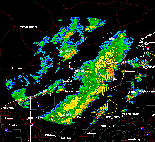 Radar Image for Severe Thunderstorms near Scio, NY at 6/18/2017 5:56 PM EDT
