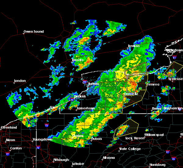 Radar Image for Severe Thunderstorms near Fairport, NY at 6/18/2017 5:59 PM EDT