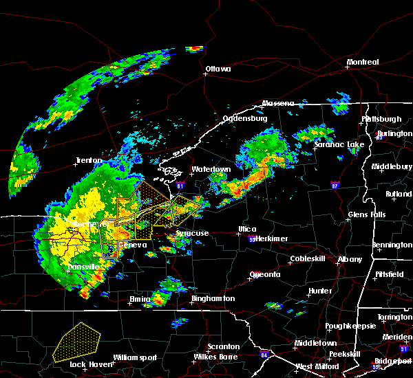 Radar Image for Severe Thunderstorms near Meridian, NY at 6/18/2017 6:33 PM EDT
