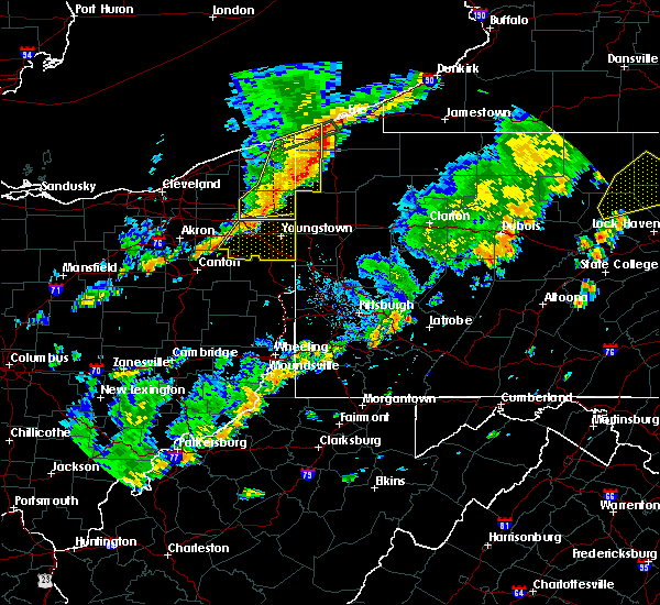 Radar Image for Severe Thunderstorms near Windham, OH at 6/18/2017 6:38 PM EDT