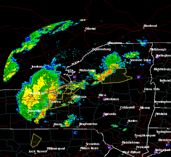 Radar Image for Severe Thunderstorms near Auburn, NY at 6/18/2017 6:42 PM EDT
