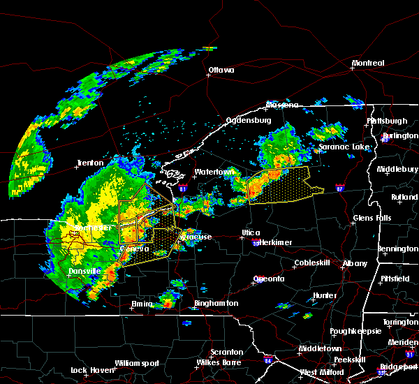 Radar Image for Severe Thunderstorms near Clyde, NY at 6/18/2017 6:48 PM EDT