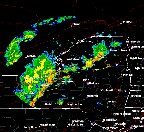 Radar Image for Severe Thunderstorms near Weedsport, NY at 6/18/2017 7:01 PM EDT