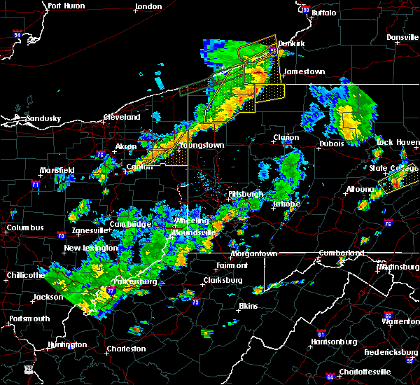 Radar Image for Severe Thunderstorms near Campbell, OH at 6/18/2017 7:32 PM EDT