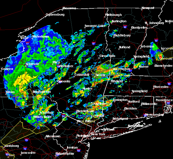 Radar Image for Severe Thunderstorms near Kingston, NY at 6/19/2017 1:05 PM EDT