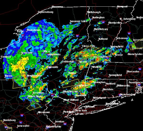 Radar Image for Severe Thunderstorms near Salem, NY at 6/19/2017 1:18 PM EDT
