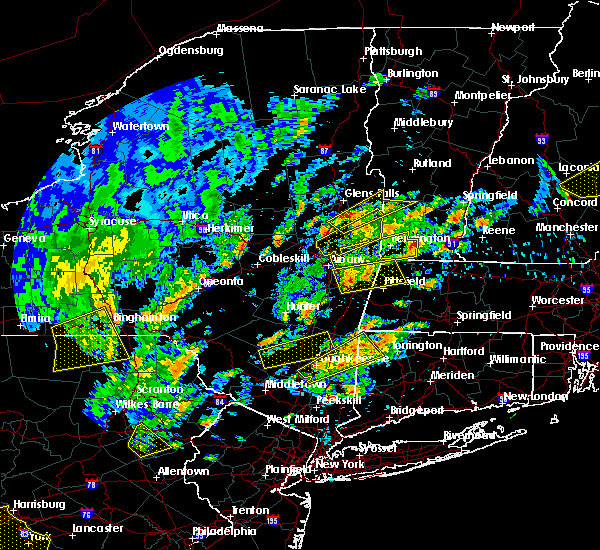 Radar Image for Severe Thunderstorms near Pittsfield, MA at 6/19/2017 1:28 PM EDT