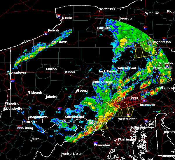 Radar Image for Severe Thunderstorms near Palmyra, PA at 6/19/2017 1:31 PM EDT