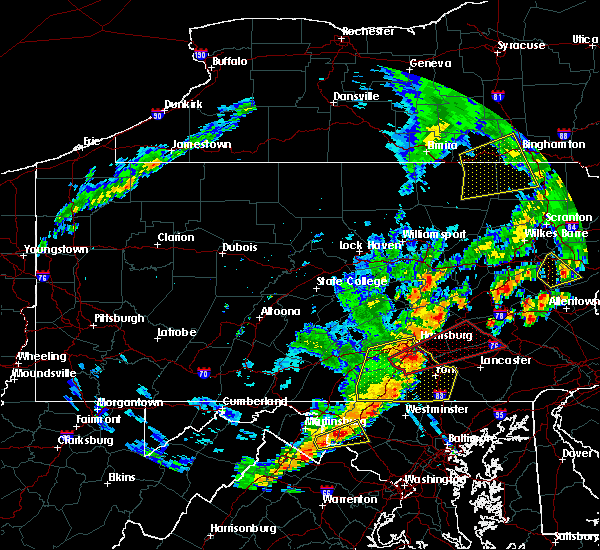 Radar Image for Severe Thunderstorms near Richland, PA at 6/19/2017 1:44 PM EDT
