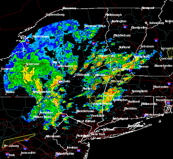 Radar Image for Severe Thunderstorms near Pittsfield, MA at 6/19/2017 1:50 PM EDT