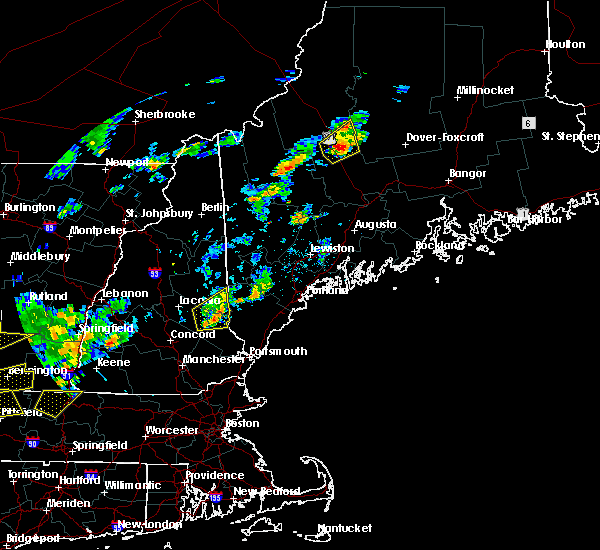 Radar Image for Severe Thunderstorms near Milton, NH at 6/19/2017 2:00 PM EDT
