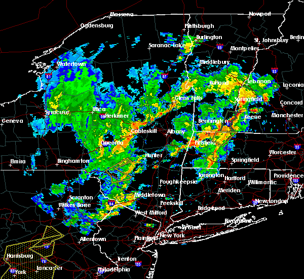 Radar Image for Severe Thunderstorms near Pittsfield, MA at 6/19/2017 2:32 PM EDT