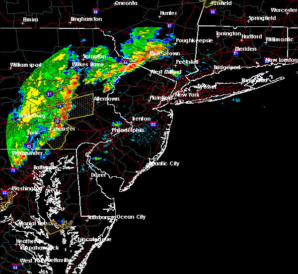 Radar Image for Severe Thunderstorms near Blandon, PA at 6/19/2017 2:54 PM EDT