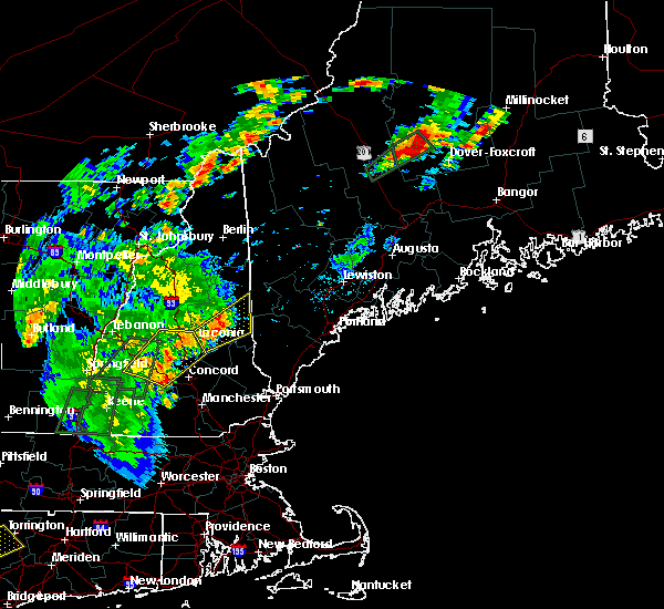 Radar Image for Severe Thunderstorms near Melvin Village, NH at 6/19/2017 3:51 PM EDT