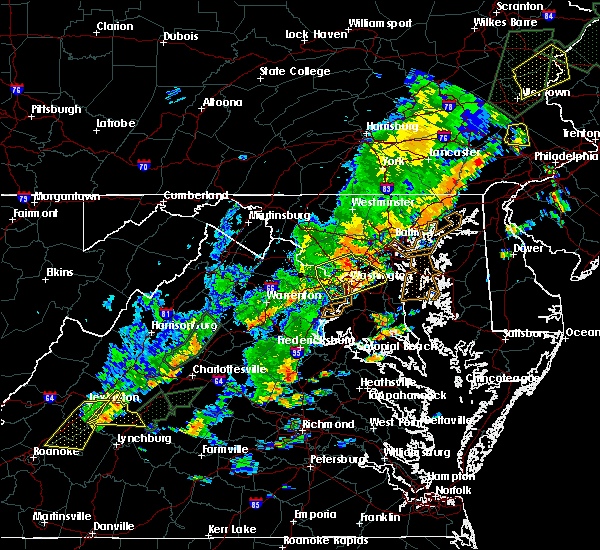 Radar Image for Severe Thunderstorms near Vienna, VA at 6/19/2017 3:52 PM EDT