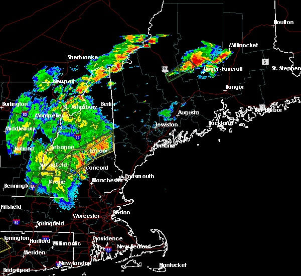 Radar Image for Severe Thunderstorms near Melvin Village, NH at 6/19/2017 4:05 PM EDT